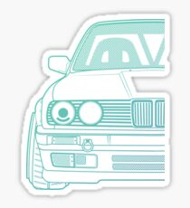 Custom Bimmer E30 3 Series T-Shirt Sticker