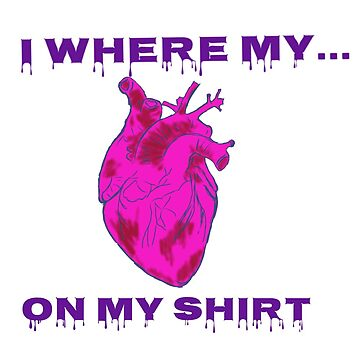 Heart On a Shirt by DonovanNewman
