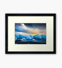 Iceland Sunset Framed Print