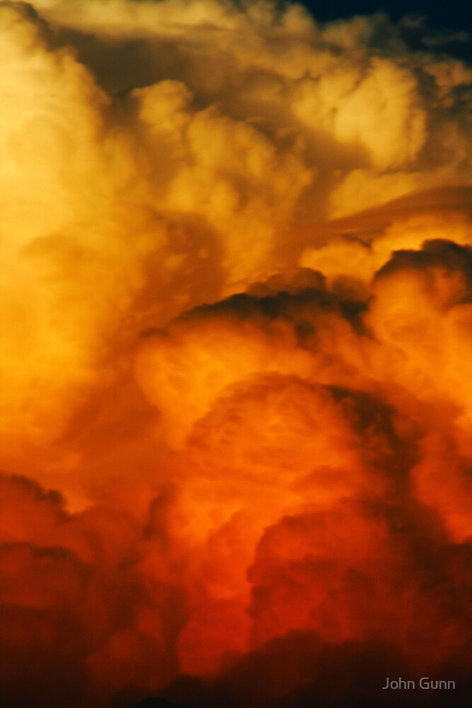 A passing storm by John Gunn