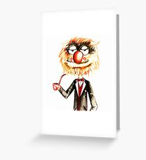 Suave Animal Greeting Card