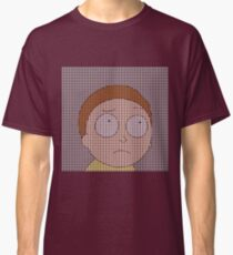 Pointillism Morty Smith Classic T-Shirt