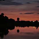 Nocturnal Reflections by Celeste Thinks