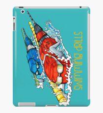 Swimming drills iPad Case/Skin