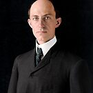Wilbur Wright, famous aviator, inventor of the aeroplane by Mads Madsen