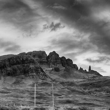 The Old Man of Storr and The Storr by dianecmcac