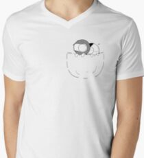 Pocket Catana and John Men's V-Neck T-Shirt