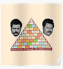 Pyramid of Greatness Poster