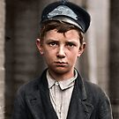 Richard Pierce - 14 years of age, works as a Western Union Telegraph Messenger. with nine months of service. He works from 7 a.m. to 6 p.m. Smokes. Visits houses of prostitution. May 1910 by Mads Madsen