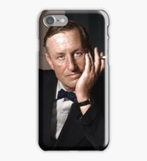 Ian Fleming, author of the James Bond novels, and a Naval Intelligence Officer during WWII iPhone Case/Skin