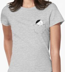 Pocket Catana Womens Fitted T-Shirt