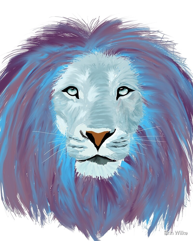 The Legendary lion Kibo by Ledi Morya
