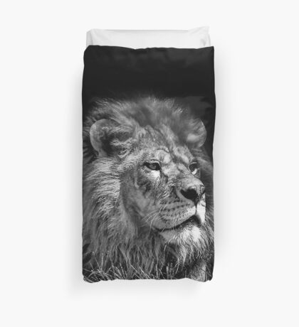 Proud Young Lion Duvet Cover