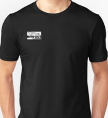 In N Out black and white T-Shirt