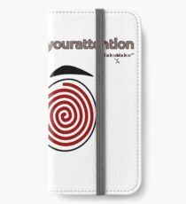 Your attention, please (Colv) iPhone Wallet/Case/Skin
