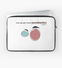 Your attention, please (Colv) Laptop Sleeve