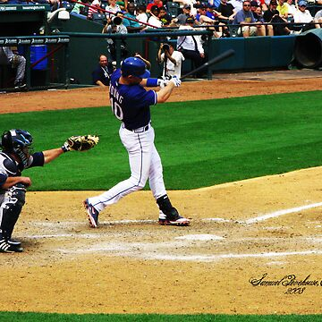 Michael Young, Texas Rangers by SamuelP