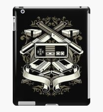 Retro Video Game Console And Controllers With Guns iPad Case/Skin