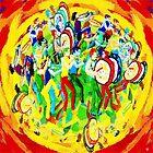 DANCE BAND FOLK ART by FieryFinn77