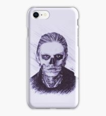 American Horror Story: Murder House Tate Langdon Pen Drawing iPhone Case/Skin