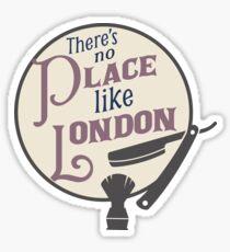 No Place Like London Sticker
