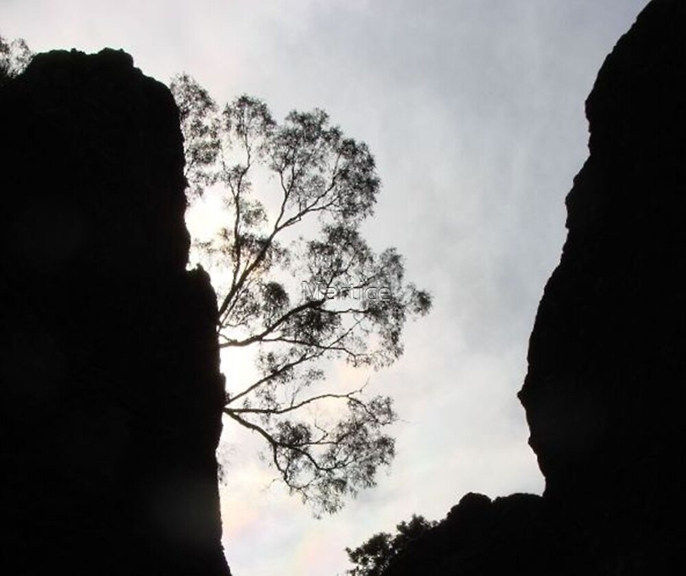 Gloomy Day at Hanging Rock by Martice