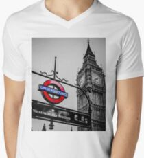 London Icons Men's V-Neck T-Shirt