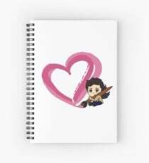 Message of love and kindness Spiral Notebook