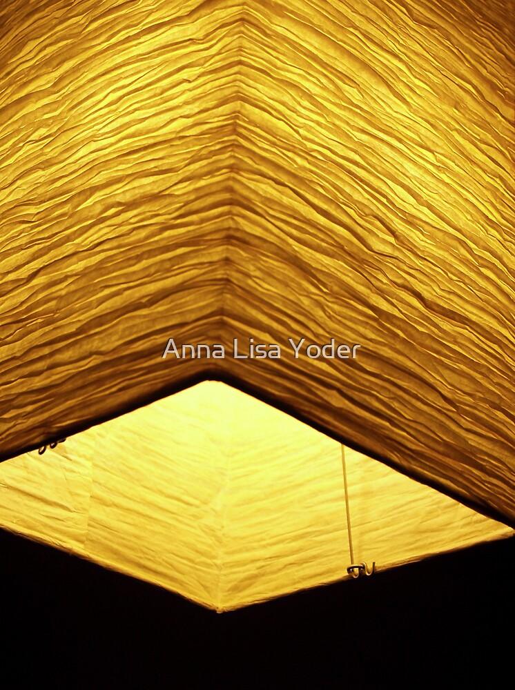 Asian Paper Lantern by Anna Lisa Yoder