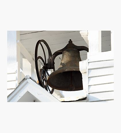 Church Bell Photographic Print