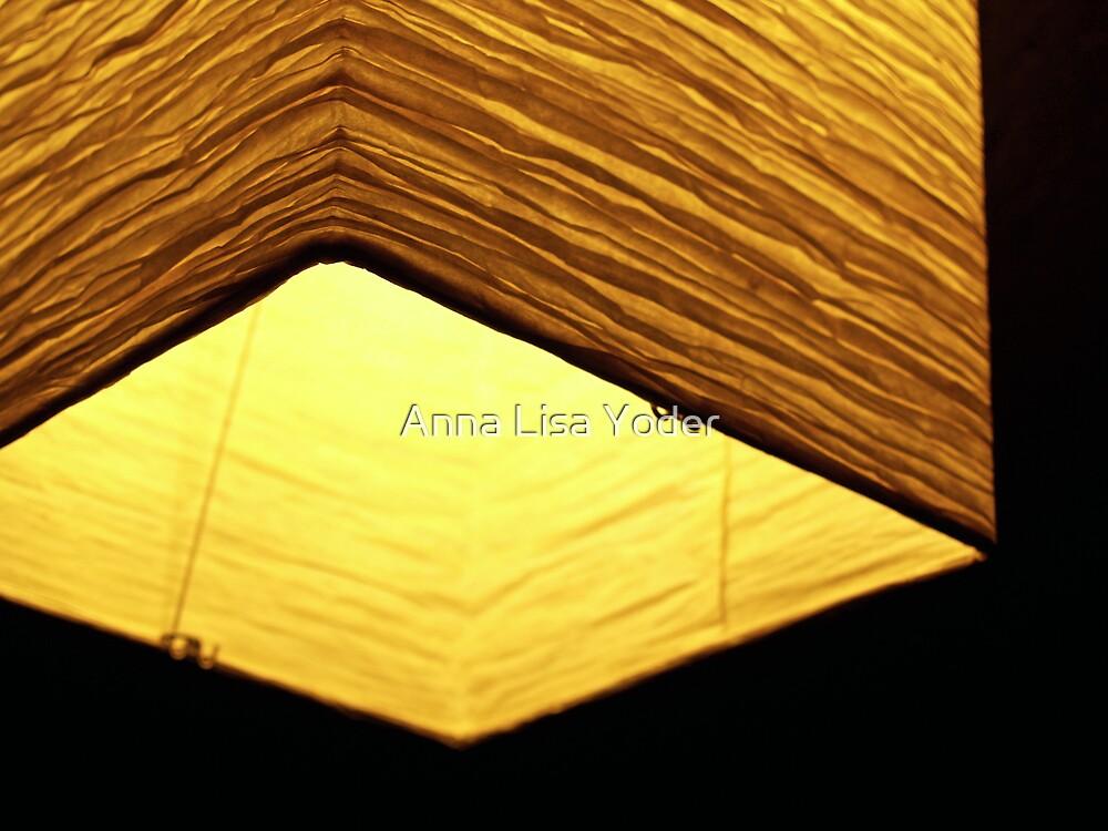 Glowing Paper Lantern by Anna Lisa Yoder
