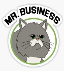 Mr. Business  Sticker
