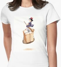 Kiki's High Flying Delivery Service  Women's Fitted T-Shirt