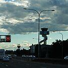 Späten Nachmittag Verkehr von Evita