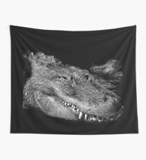 Crocodile smile Wall Tapestry