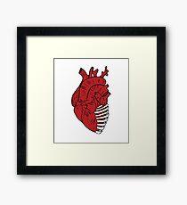 Heart and Bone Framed Print