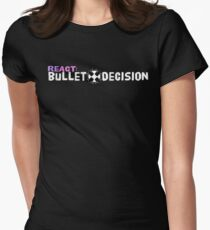 ReAct: Bullet Decision Long Logo T-Shirt