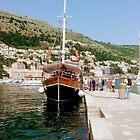 Dubrovnik Harbour by Fara