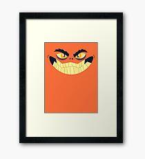 Monster Mugs - Smiley Framed Print