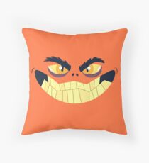 Monster Mugs - Smiley Throw Pillow