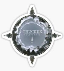 Pegatina brillante Truckee