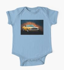 Orange 1970 Boss 302 Mustang Kids Clothes