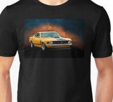 Orange 1970 Boss 302 Mustang Unisex T-Shirt