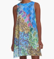 Inspired by Gaudi (updated July 2017) A-Line Dress
