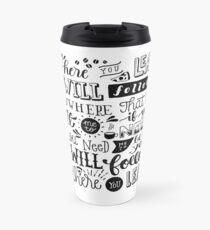 where you lead {gilmore girls} Travel Mug
