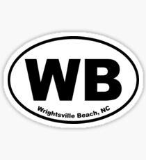 Wrightsville Beach Sticker