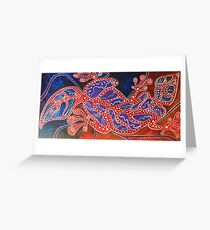 Gecko 1 Greeting Card