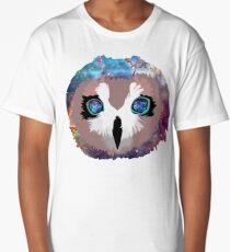 Galaxy Owl Long T-Shirt