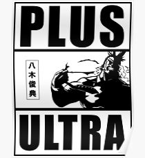 PLUS ULTRA!!! 100% Poster