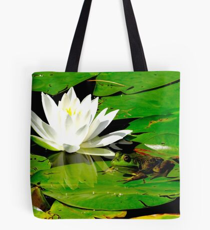 Basking in the reflection Tote Bag